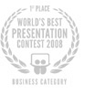 World's Best Presentation Contest 2008 - 1st Place