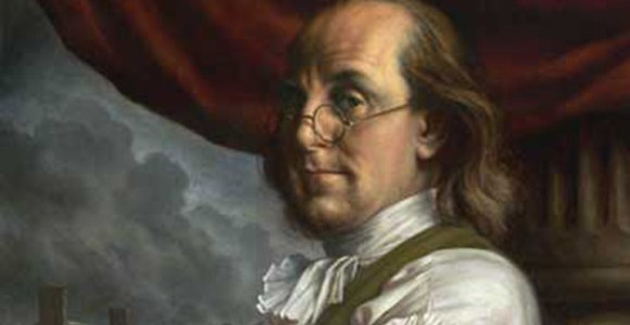 A Virtuous Life According to Benjamin Franklin, Adapted for the Presenter