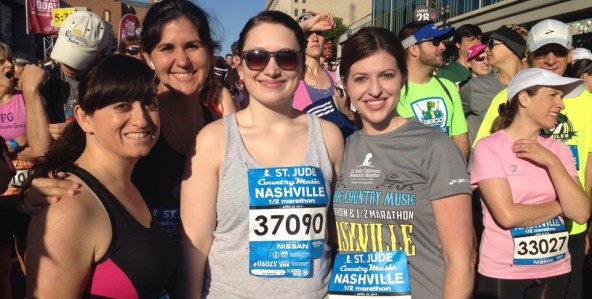 Ethos3 Participates in the 2014 Country Music 1/2 Marathon