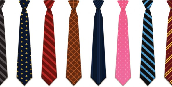 The Laws of Wearing Ties for Presenters