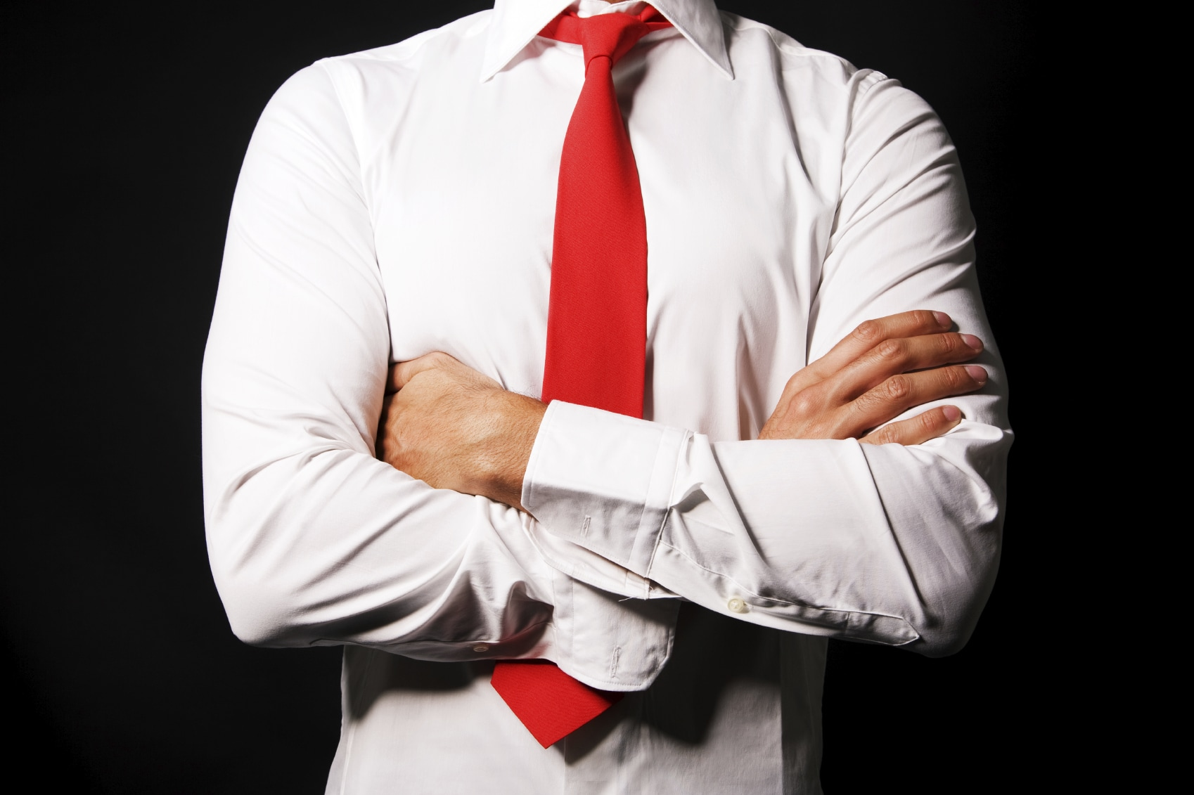 what red tie means