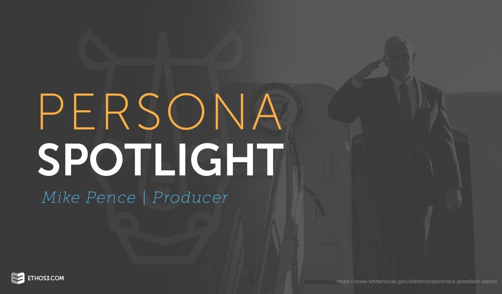 Mike Pence Presentation Persona