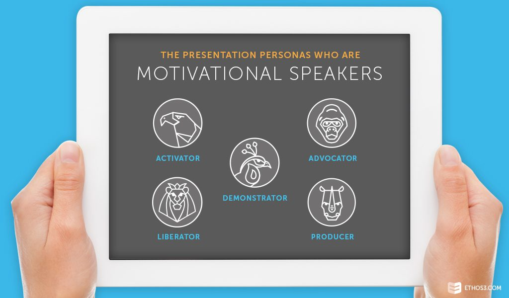 Presentation Personas Who Are Motivational Speakers
