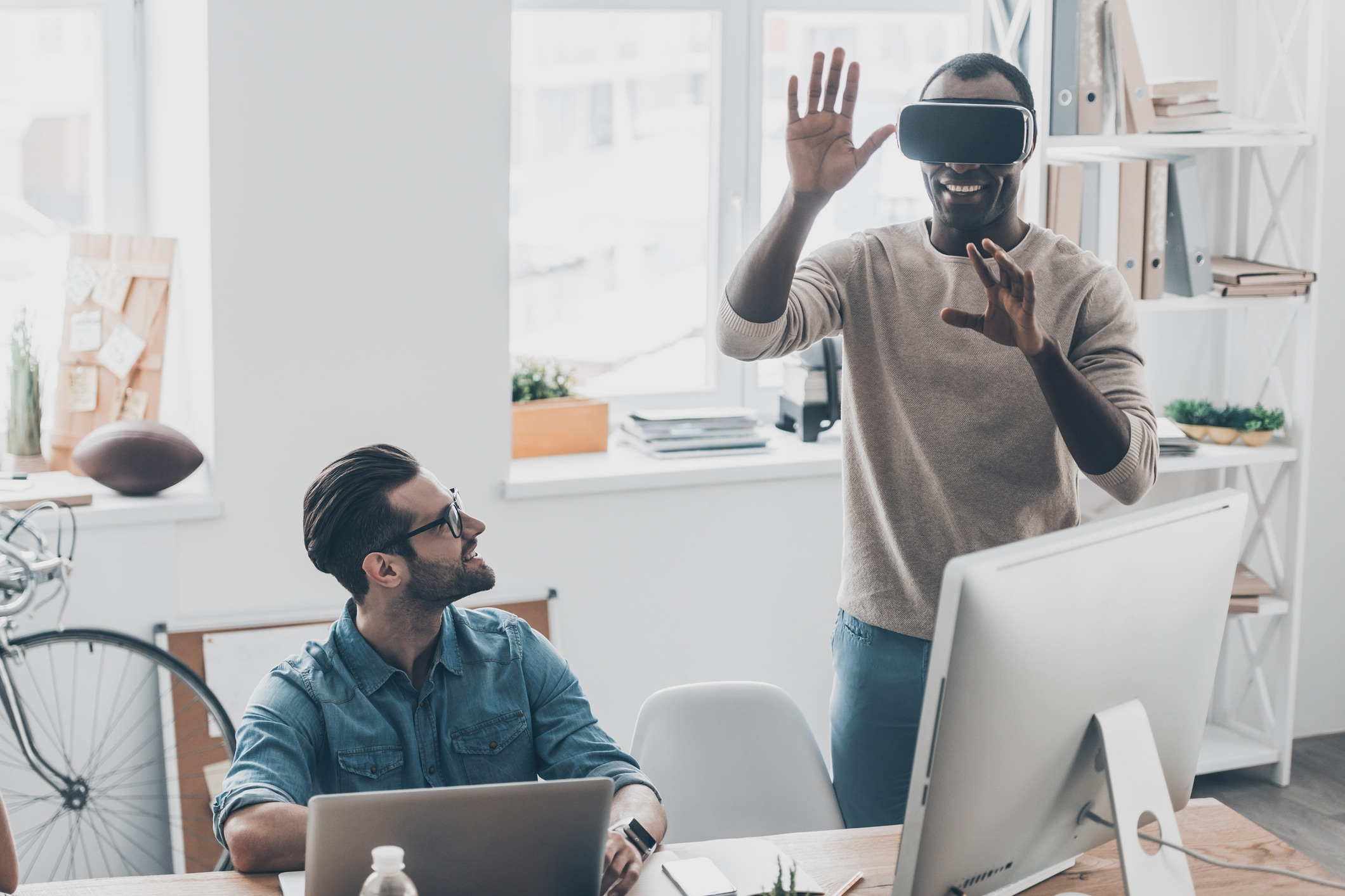How To Use Virtual Reality in a Business Presentation