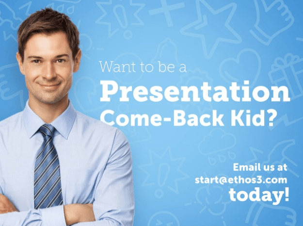 First call to action for presentation content