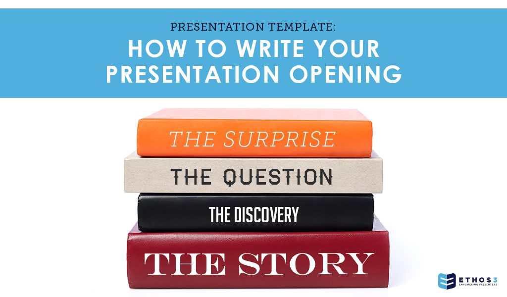 Presentation Opening Template
