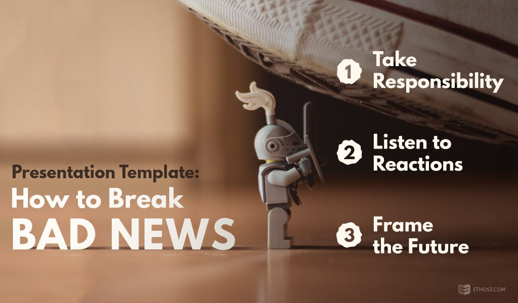 presentation template: how to break bad news | ethos3, Presentation templates